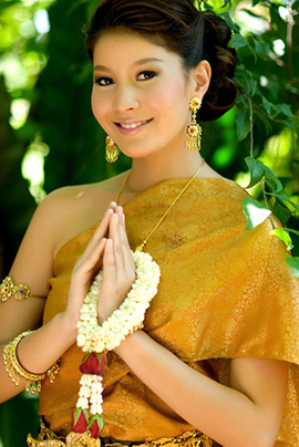 Beautiful culture with thailand travel